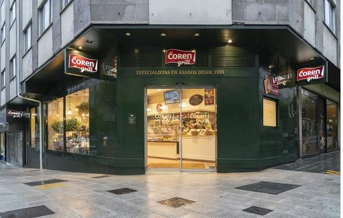 Coren Grill abre su nueva tienda que acerca a Santiago el mejor sabor del campo gallego