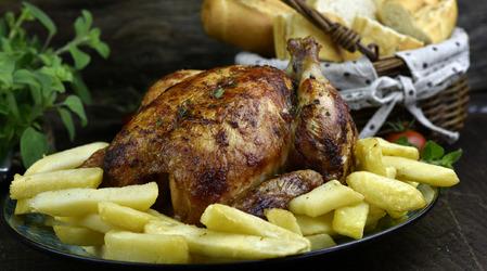 Menú Pollo Clásico