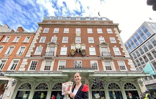 El Grupo Coren introduce su Jamón Selecta de Castañas en la prestigiosa cadena londinense Fortnum & Mason, proveedor de la Casa Real británica
